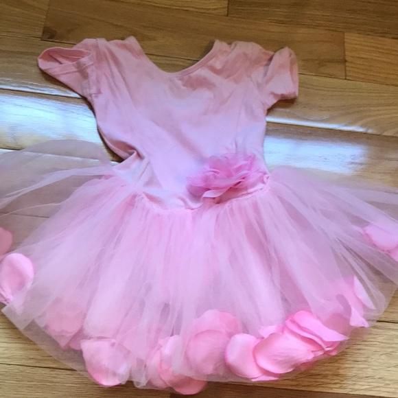 dbe57ec7d Popatu Shirts & Tops | Poputu Pink Ballet Tutu Flowers Bodysuit ...